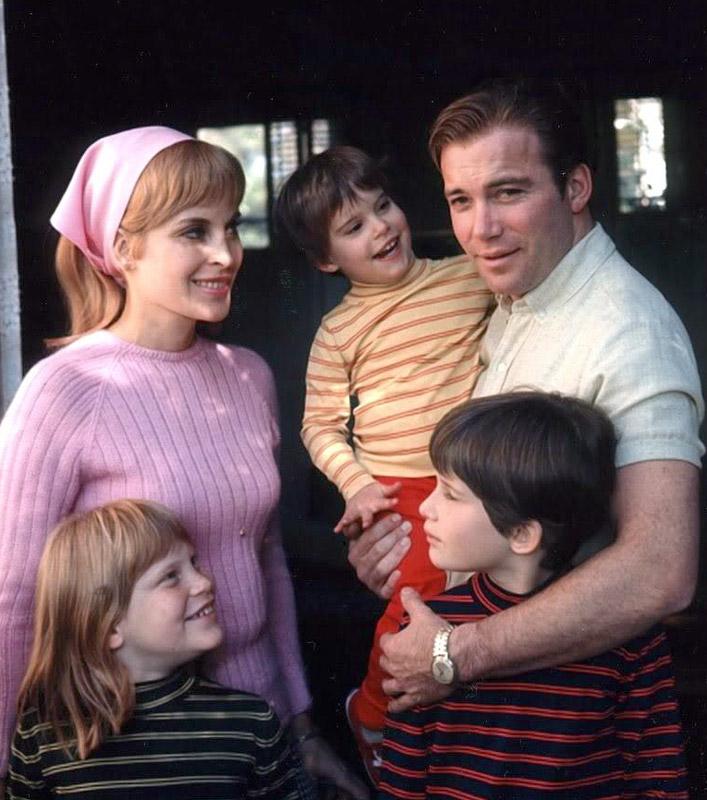 William Shatner's trek through fatherhood - Senior Voice